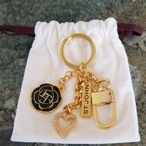 NWOT St. John Fashion Keychain